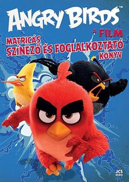 Angry Birds - A film - Matricás színező és foglalkoztató könyv termékhez kapcsolódó kép