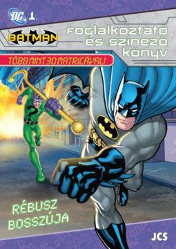 Batman - Rébusz bosszúja termékhez kapcsolódó kép