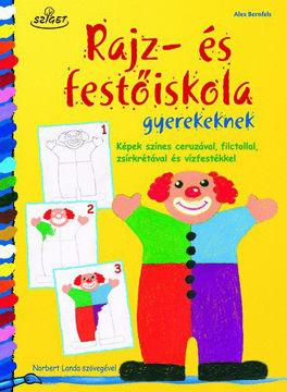 Rajz- és festőiskola gyerekeknek - Képek színes ceruzával, filctollal, zsírkrétával és vízfestékkel termékhez kapcsolódó kép