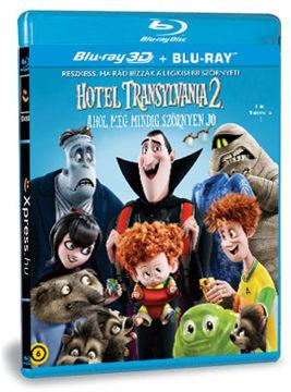 Hotel Transylvania 2. - Ahol még mindig szörnyen jó (BD3D+BD) termékhez kapcsolódó kép
