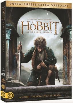 A hobbit: Az öt sereg csatája - duplalemezes, extra változat (2 DVD) termékhez kapcsolódó kép