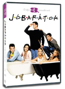 Jóbarátok - 3. évad (3 DVD) termékhez kapcsolódó kép