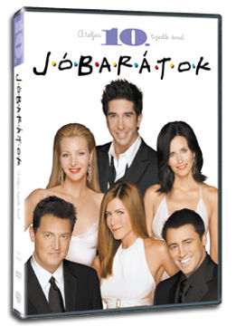 Jóbarátok - 10. évad (3 DVD) termékhez kapcsolódó kép