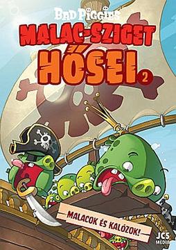 Bad Piggies - Malac-sziget hősei 2. - Malacok és kalózok! termékhez kapcsolódó kép
