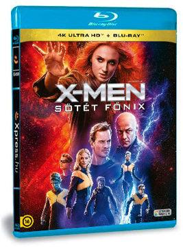 X-Men: Sötét Főnix (4K UHD+BD) termékhez kapcsolódó kép