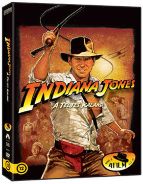 Indiana Jones tetralógia (4 DVD) termékhez kapcsolódó kép