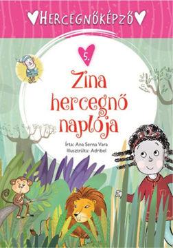 Hercegnőképző 5. - Zina hercegnő naplója termékhez kapcsolódó kép