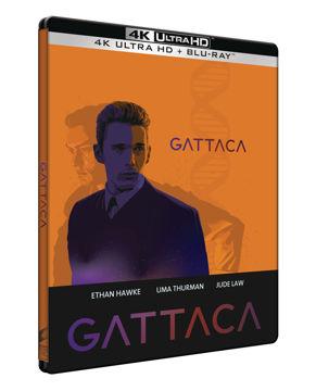 Gattaca (UHD+BD) - limitált, fémdobozos változat (steelbook) termékhez kapcsolódó kép