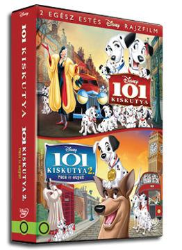 101 kiskutya 1-2. gyűjtemény (2 DVD) termékhez kapcsolódó kép