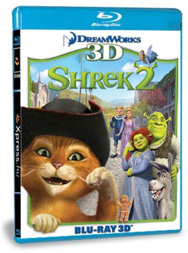 Shrek 2. (BD3D) termékhez kapcsolódó kép