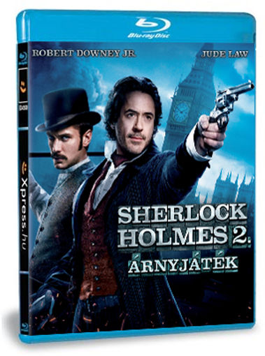 Sherlock Holmes 2. - Árnyjáték termékhez kapcsolódó kép