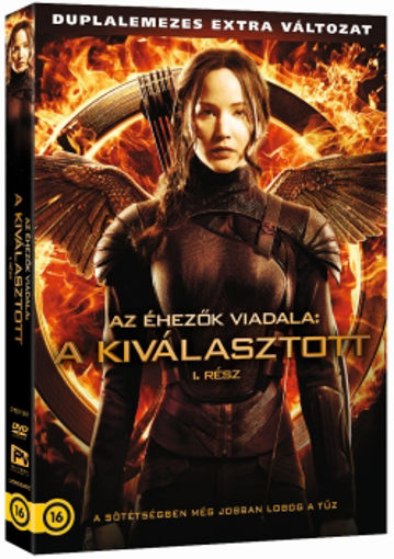 Az éhezők viadala: A kiválasztott, 1. rész - duplalemezes extra változat (2 DVD) termékhez kapcsolódó kép
