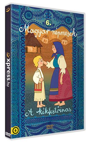 Magyar népmesék 6.: A kékfestőinas (FIBIT kiadás) termékhez kapcsolódó kép