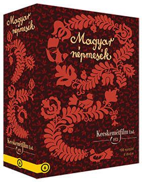 Magyar népmesék gyűjtemény - 100 epizód 8 DVD-n (8 DVD) termékhez kapcsolódó kép