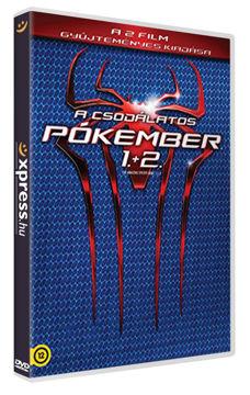 A csodálatos pókember 1-2. (2 DVD) termékhez kapcsolódó kép