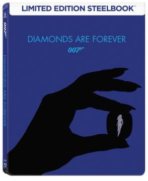 James Bond - Gyémántok az örökkévalóságnak - limitált, fémdobozos változat (steelbook) termékhez kapcsolódó kép