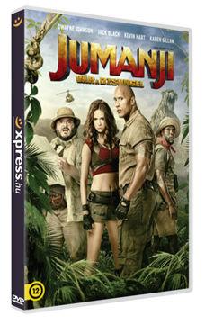 Jumanji - Vár a dzsungel termékhez kapcsolódó kép