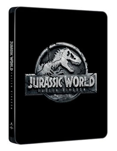 Jurassic World: Bukott birodalom (3DBD+BD) - limitált, fémdobozos változat ( 2018  steelbook) termékhez kapcsolódó kép