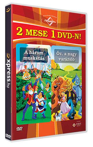 2 mese 1 DVD-n: A három muskétás / Óz, a nagy varázsló termékhez kapcsolódó kép