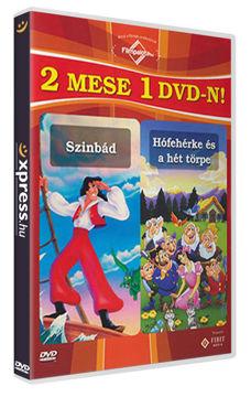 2 mese 1 DVD-n: Szinbád / Hófehérke és a 7 törpe termékhez kapcsolódó kép