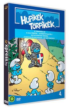 Hupikék törpikék 4. (új kiadás) termékhez kapcsolódó kép