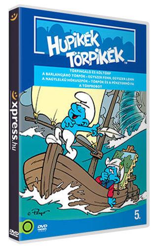 Hupikék törpikék 5. (új kiadás) termékhez kapcsolódó kép