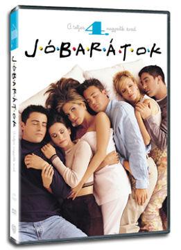 Jóbarátok - 4. évad (3 DVD) termékhez kapcsolódó kép