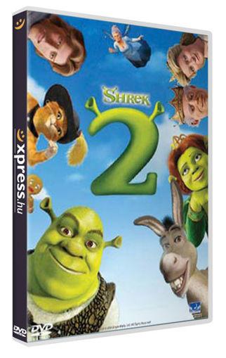 Shrek 2. - Limitált extra kiadás, beszélő dobozban (2 DVD) termékhez kapcsolódó kép