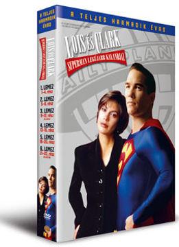 Lois és Clark: Superman legújabb kalandjai - A teljes harmadik évad (6 DVD) termékhez kapcsolódó kép