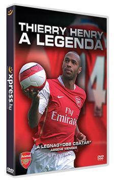 Thierry Henry – A legenda termékhez kapcsolódó kép