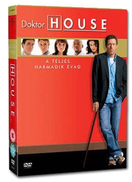 Doktor House - 3. évad (6 DVD) termékhez kapcsolódó kép