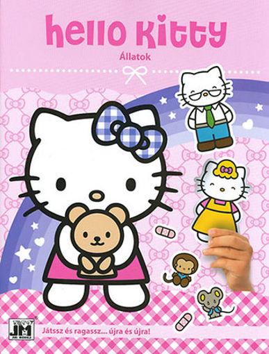 Hello Kitty - A4 szórakoztató matricák - Állatok termékhez kapcsolódó kép