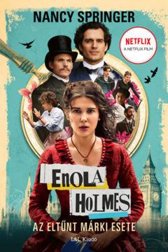 Enola Holmes - Az eltűnt Márki esete termékhez kapcsolódó kép