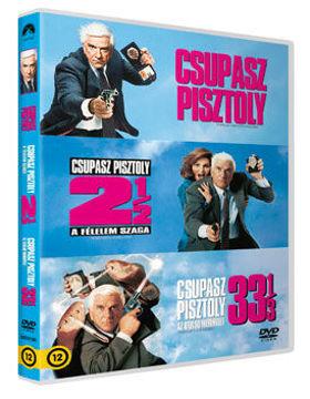A Csupasz pisztoly trilógia (3 DVD) termékhez kapcsolódó kép