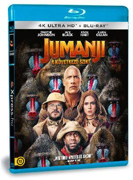 Jumanji - A következő szint (4K UHD+BD) termékhez kapcsolódó kép