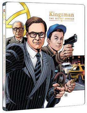 Kingsman: A titkos szolgálat - limitált, fémdobozos változat ( képregény stílusú  steelbook) termékhez kapcsolódó kép