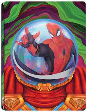 Pókember: Idegenben (BD3D+BD) - limitált, fémdobozos változat ( Mysterio  steelbook) termékhez kapcsolódó kép