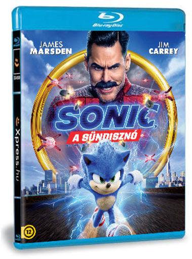 Sonic, a sündisznó termékhez kapcsolódó kép