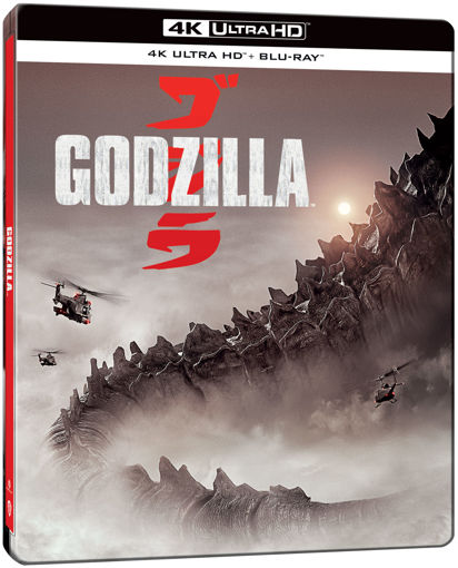 Godzilla (2014) (UHD+BD) - limitált, fémdobozos változat (steelbook) termékhez kapcsolódó kép