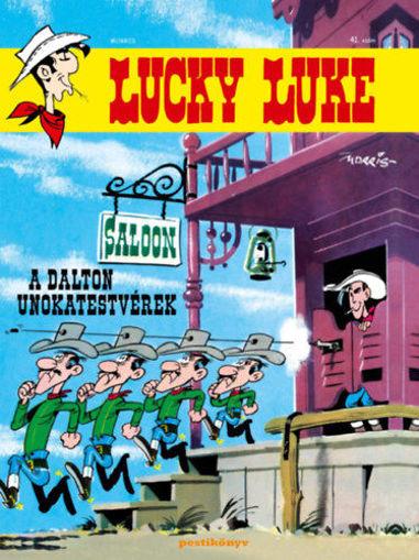 Lucky Luke 41. - A Dalton unokatestvérek termékhez kapcsolódó kép