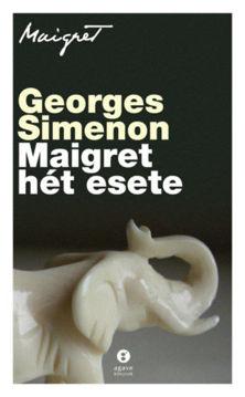 Maigret hét esete termékhez kapcsolódó kép