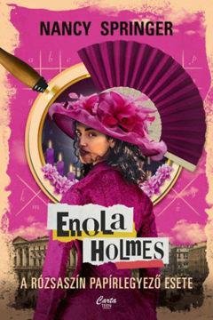 Enola Holmes - A rózsaszín papírlegyező esete termékhez kapcsolódó kép
