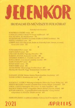 Jelenkor - Irodalmi és művészeti folyóirat - 2021. április termékhez kapcsolódó kép