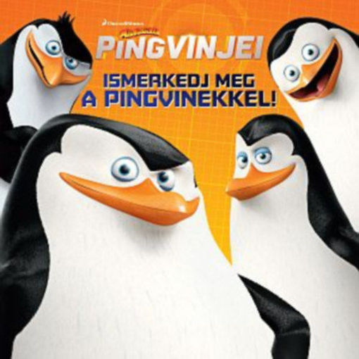 A Madagaszkár pingvinjei - Ismerkedj meg a pingvinekkel! termékhez kapcsolódó kép