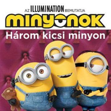 Minyonok - Három kicsi minyon / Álmos kiscicák termékhez kapcsolódó kép
