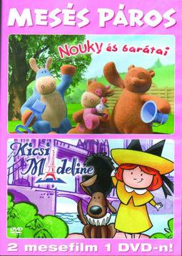 Mesés páros - Nouky és barátai 1. - Kicsi Madeline - 2 mese 1 DVD-n termékhez kapcsolódó kép