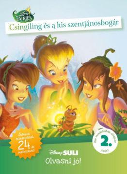 Csingiling és a kis szentjánosbogár - Disney Suli - Olvasni jó! sorozat 2. szint termékhez kapcsolódó kép